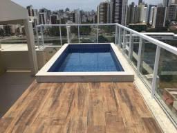 Suíte em cobertura com piscina no Costa azul