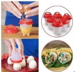 Forma silicone p/ ovo - Magic Egg