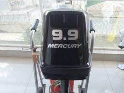 Título do anúncio: Motor de popa Mercury 9.9hp 2T 2021