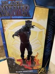 Título do anúncio: Estatua Marvel Pantera Negra Avangers Diamond Select 1/6 iron sideshow prime 1 xm