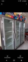 Título do anúncio: Expositor Refrigerado de bebidas, Portas de Vidro 1450 Litros  220v