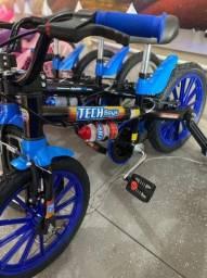 Título do anúncio: Venha já aproveite bicicleta pra criança 3 anos tamanho aro 16 infantil
