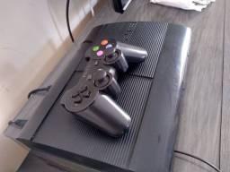 Título do anúncio:  Playstation 3 com vários jogos Desbloqueado