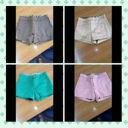 Título do anúncio: Shorts de tecido tipo Cetim