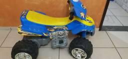 Quadriciclo Infantil elétrico 12V - Bateria nova