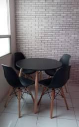 Título do anúncio: Conjunto mesa stilys + 4 cadeiras