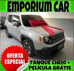 Título do anúncio: TANQUE CHEIO SO NA EMPORIUM CAR!!! JEEP RENEGADO 1.8 SPORT AUTOMÁTICO ANO 2016