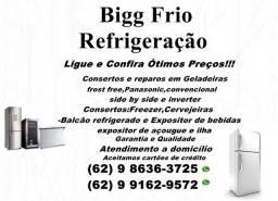 Título do anúncio: >>Consertos de Geladeiras-Freezer\Cervejeiras\Balcão refrigerado e outros