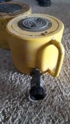 Título do anúncio: Cilindro hidráulico 100 tonelada com bomba