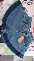 Título do anúncio: Short jeans godê