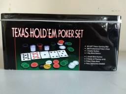 Título do anúncio: Jogo de Pôquer Completo