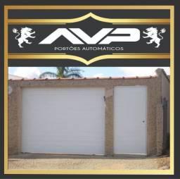 Título do anúncio: Portão de garagem em aluminio