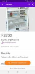 Título do anúncio:  Lojinha em mdf 300 reais