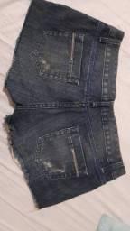 Lote Dois shorts e um bore