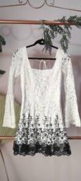 Título do anúncio: Vestido branco P