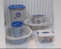Título do anúncio: kit banheira 6 peças plasutil