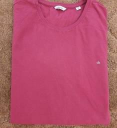 Camiseta Calvin Klein G Rosa