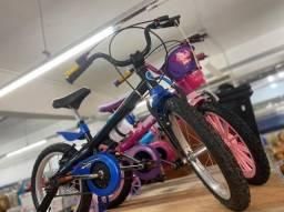 Título do anúncio: Queima de Estoque Nova Bicicleta aro 16 infantil para 5 anos