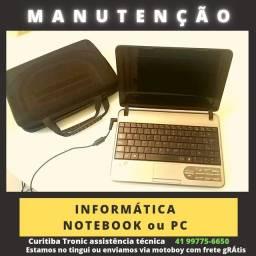 Notebook ou Pc MANUTENÇÃO