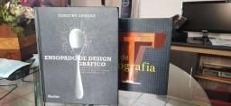 Livro Ensopado de Designer gráfico e Guia de Tipografia de Timothy Samara