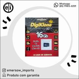 Título do anúncio: Cartão De Memória Micro Sd 16gb - Entrega Grátis