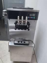 Vendo ou troco, máquina de sorvete.