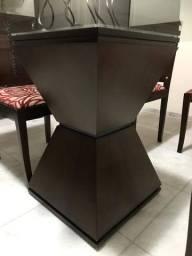 Mesa de Jantar em Vidro 19mm - 120cm x 120cm