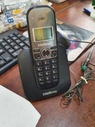 Título do anúncio: Telefone sem fio Intelbras TS5120