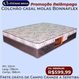 Colchão de molas casal Bonnaflex PROMOÇÃO