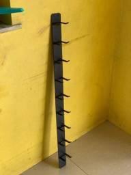 Título do anúncio: Suporte de halteres de parede