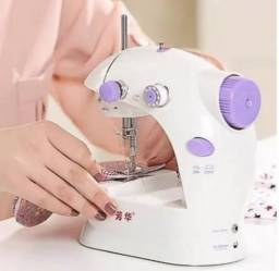 Mini máquina de costura portátil elétrica