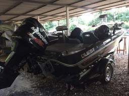 Barco Bass Boat Quest 268 Completo Top - 2016