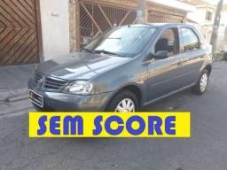 Renault logan 2008 financio sem score entrada no cartão ficha no whatsap