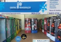 Expositora - Cervejeira Porta Cega / Porta de Vidro