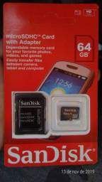 Cartão de 64GB