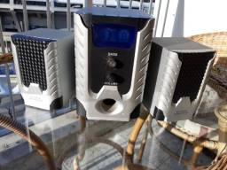 Caixas de som amplificadoras Multimedia Speaker System. Perfeito estado