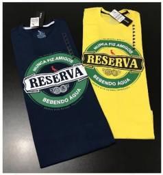 Sacoleiras - Kit 6 Camisetas Estampadas Malha Premium Marcas Variadas