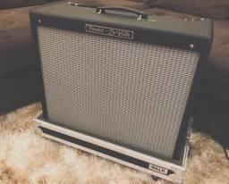 Amplificador Fender Deville 212 + Case de rodinhas