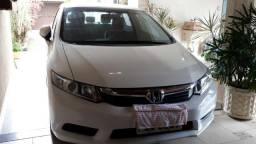Honda civic 2015 Branco automático LXS Perfeito 55 mil km Único Dono - 2015