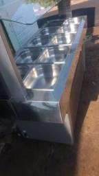 Mesa Térmica Buffet Quente Gelopar