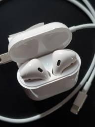 AirPods com estojo de recarga sem fio - Apple