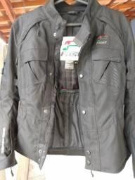 Jaqueta com proteção (moto)