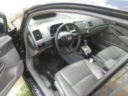 Honda civic automatico 1.8 carro muito top revisado! zap * - 2008