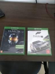 Forza 7 e halo master chief collection