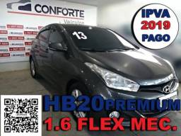 Hyundai hb20 2013 1.6 premium 16v flex 4p manual - 2013