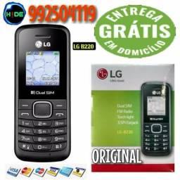 Celular LG Original 2 chip Novo (entrega grátis)