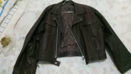 Jaqueta de couro Zoomp Premium