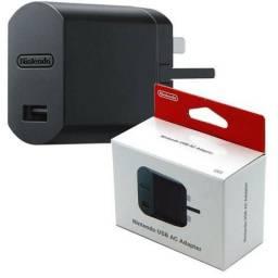 Fonte Nintendo Usb Ac Adapter Para Nintendo Switch