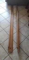 Cama de madeira!