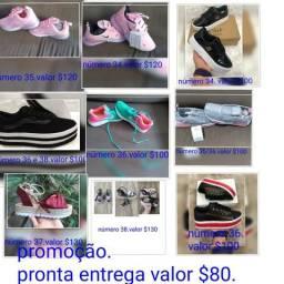 Promoção de calçados
